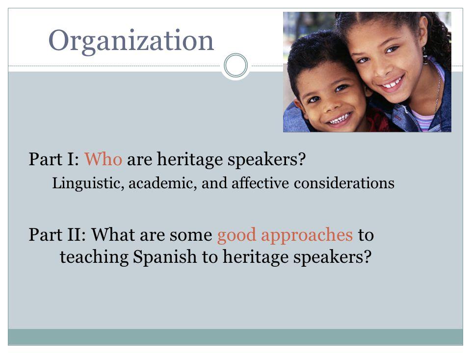 Los alumnos L2 aprenden una variedad prestigiosa y monolingüe VariedadFactores socialesFactores lingüísticos De prestigioClase alta; zonas urbanas; altos niveles de educación formal No muestra efectos recientes del contacto con otras lenguas.