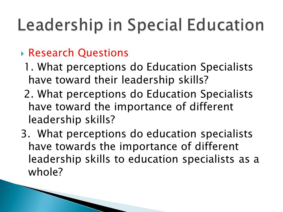  Billingsley Bonnie (2008) Leadership may be enhanced through:  Mentoring  Co-teaching/collaborating  Implementing school reforms  Collaborating with universities/research oriented  Developing instruction/curriculum Explore one of these aspects: Special Education/Regular Education Collaboration: In pairs complete The Coteaching Rating Scale : compare and discuss results.