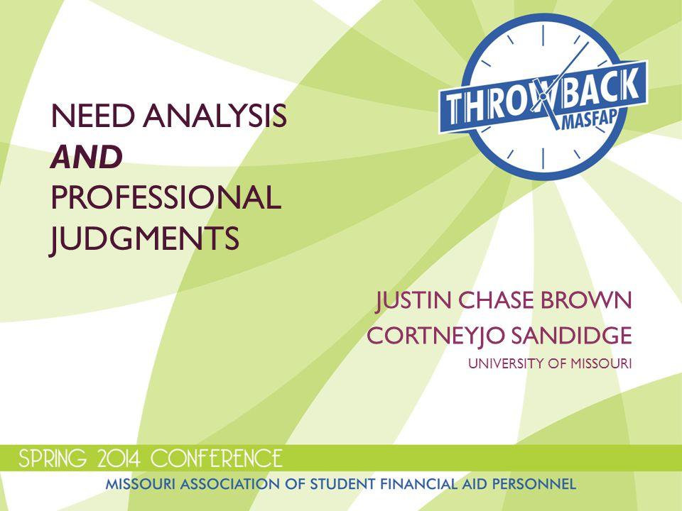 TRAINING OBJECTIVES i.Principles of Need Analysis ii.