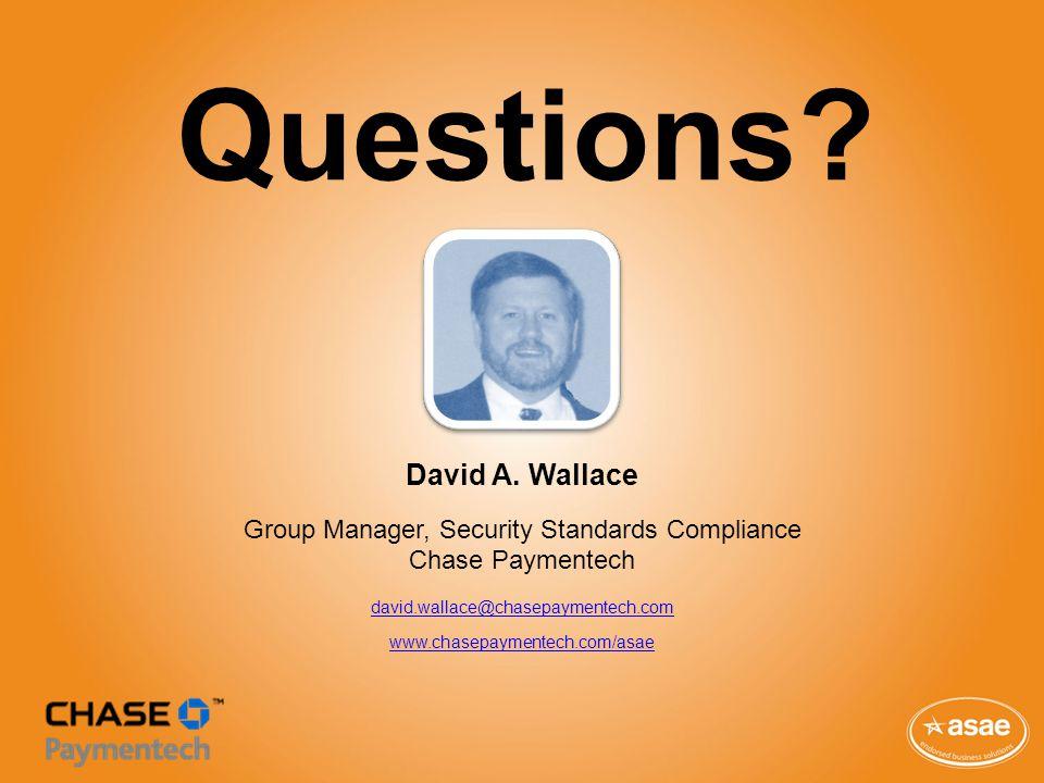 Questions. David A.