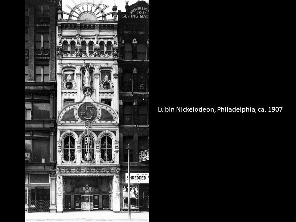 Lubin Nickelodeon, Philadelphia, ca. 1907