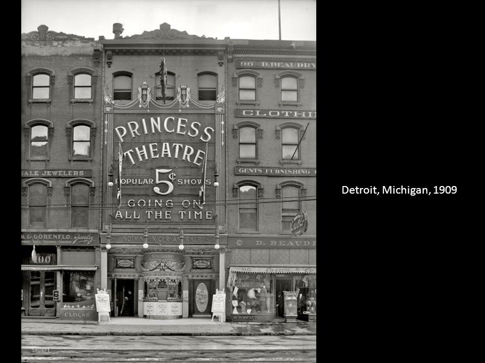 Detroit, Michigan, 1909
