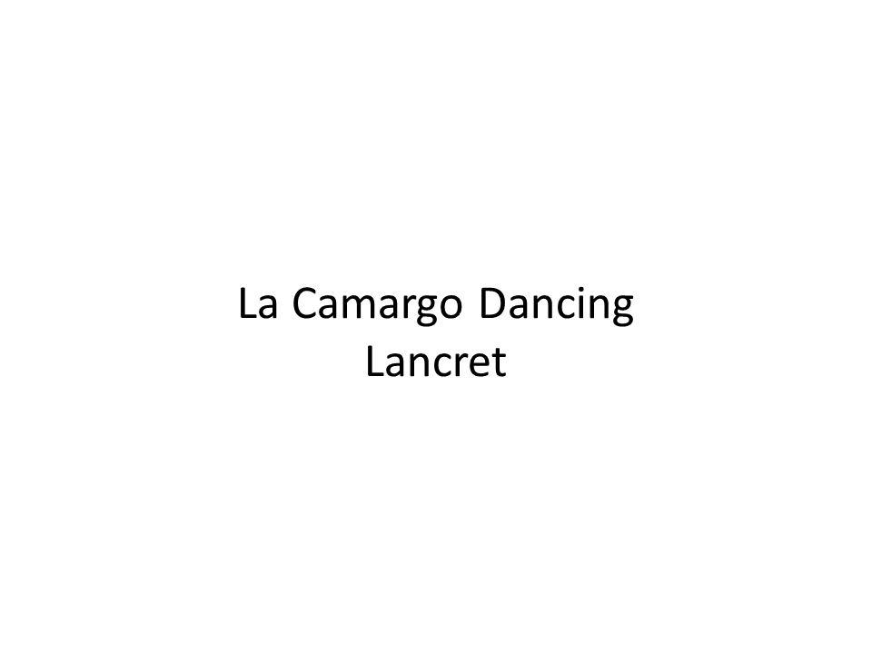 La Camargo Dancing Lancret