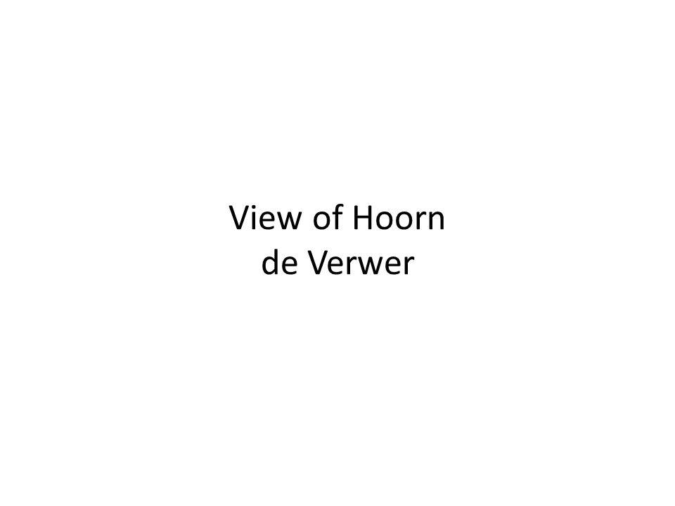 View of Hoorn de Verwer