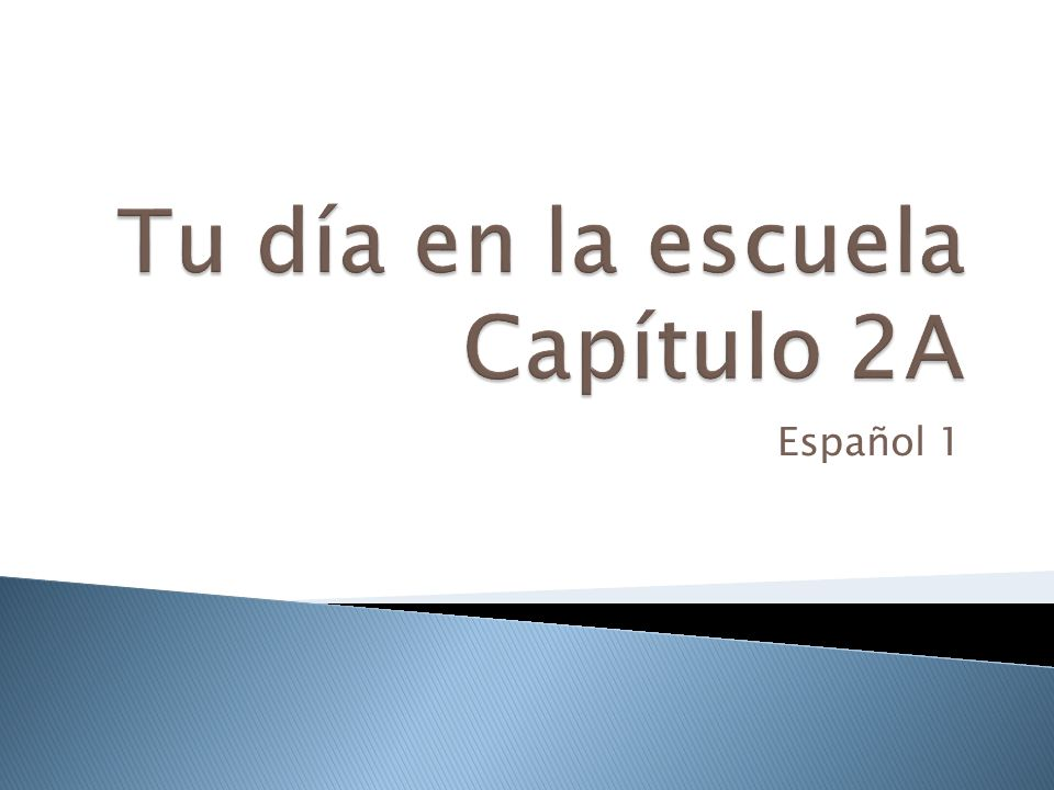 The ending (la terminación): The last two letters of the infinitive. 52