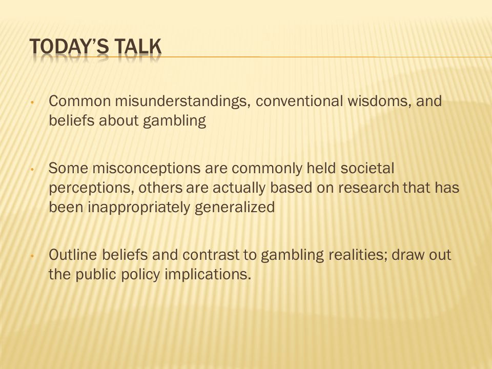 People are loss averse (Kahneman and Tversky 1979) More painful to give up a current asset than it is pleasurable to buy that same asset (Thaler 1980) If either of these theories held in reality, casinos would not be successful, as they rely on gamblers giving up current assets (money) to engage in an risky activity