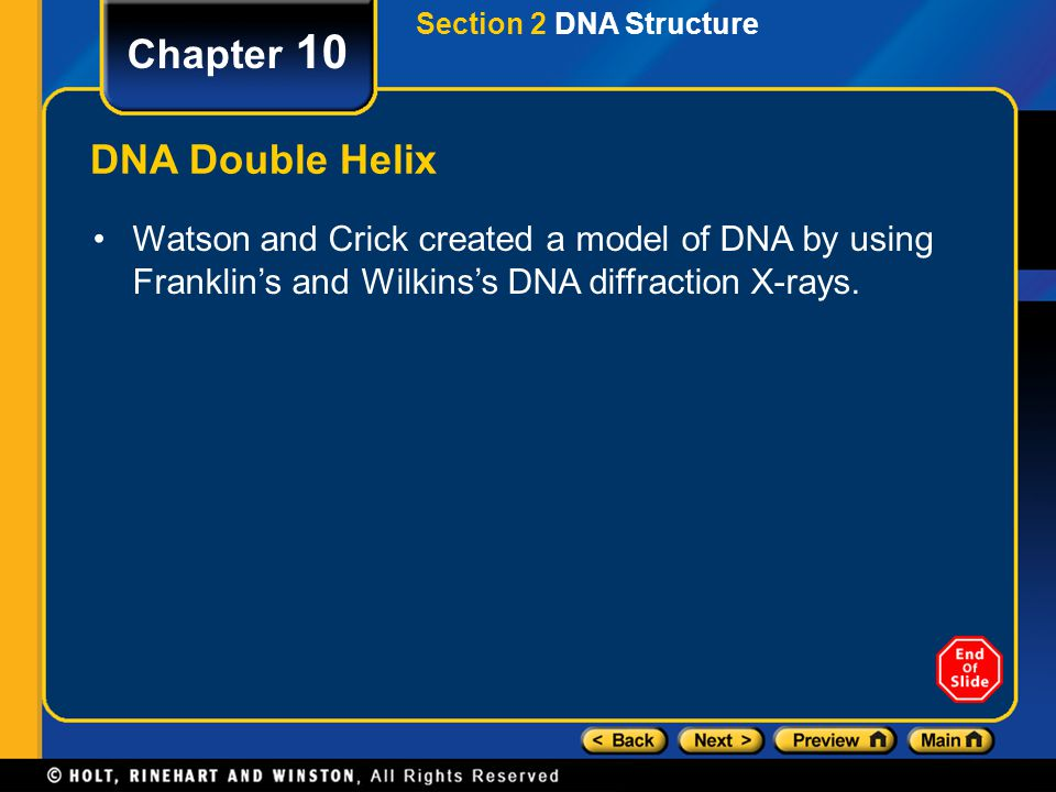Section 3 DNA Replication Chapter 10 DNA Errors in Replication Changes in DNA are called mutations.