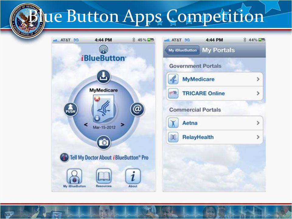 Blue Button Apps Competition