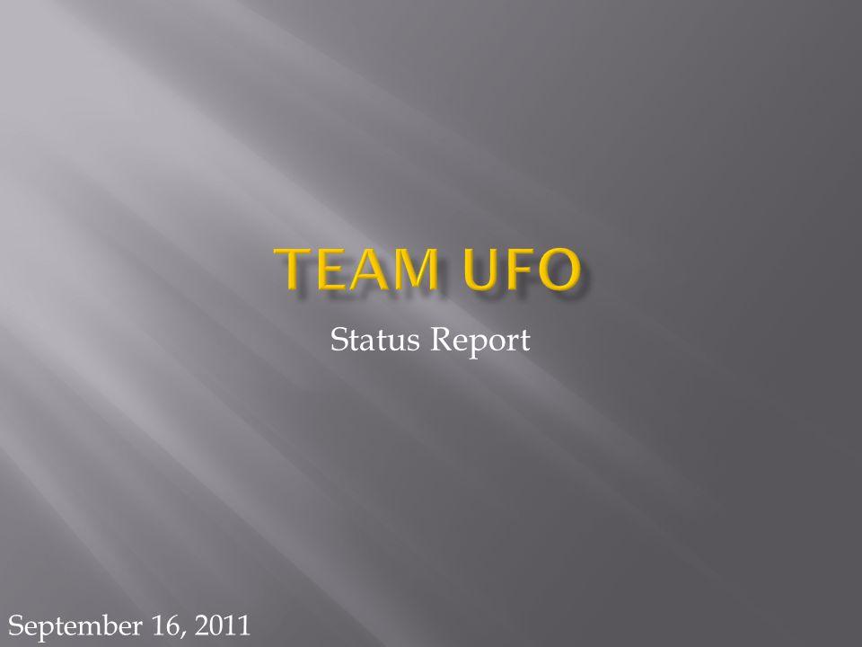 Status Report September 16, 2011