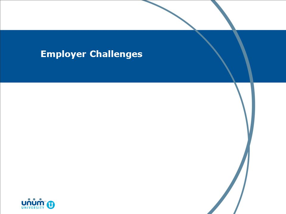 Employer Challenges