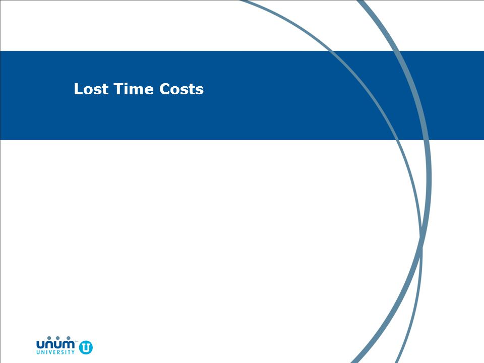 Lost Time Costs