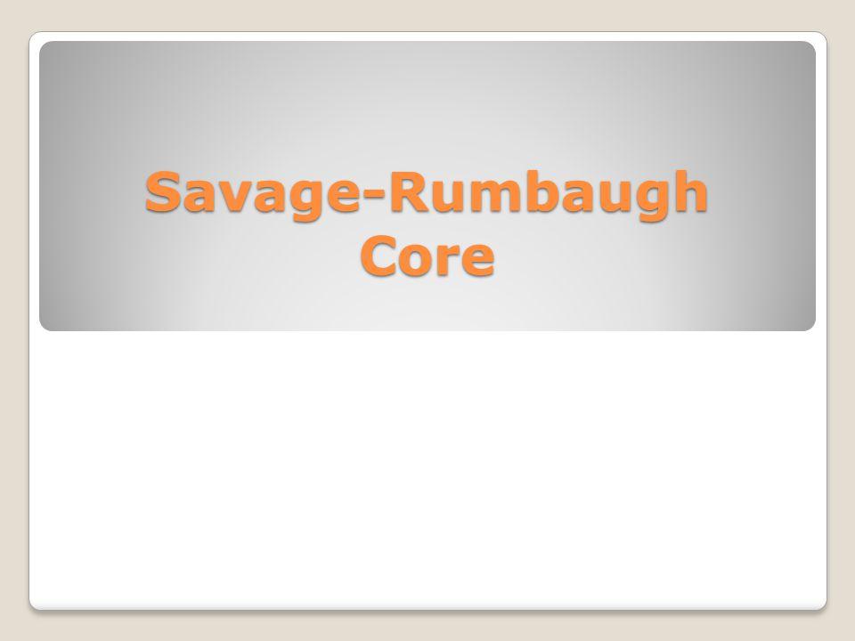 Savage-Rumbaugh et al (1986) Results D A B F