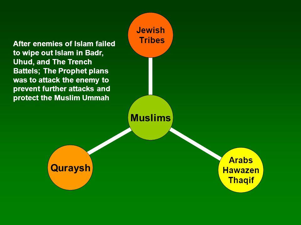 Mecca Hunayn Awtaas Jurana Tai'f RedSea Muslims admire the numbers and like the odds