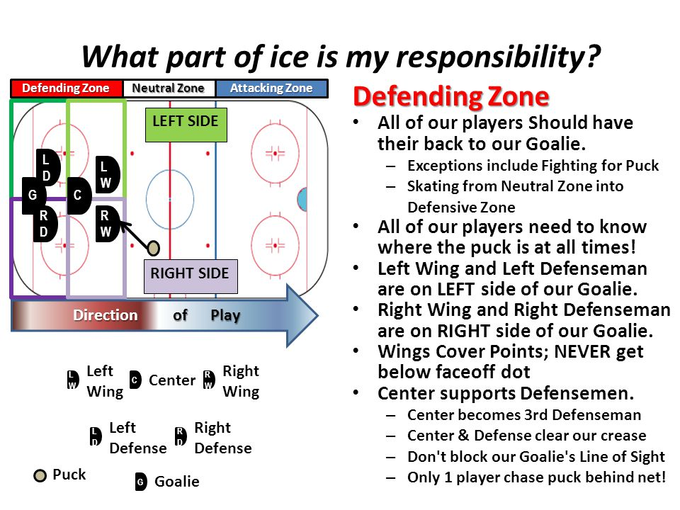 What part of ice is my responsibility.