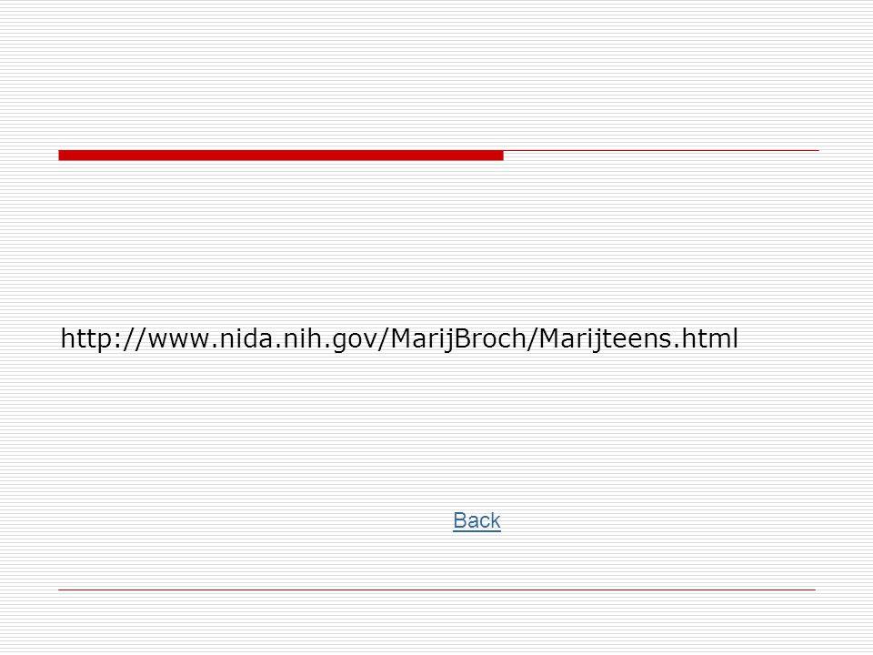 http://www.nida.nih.gov/MarijBroch/Marijteens.html Back