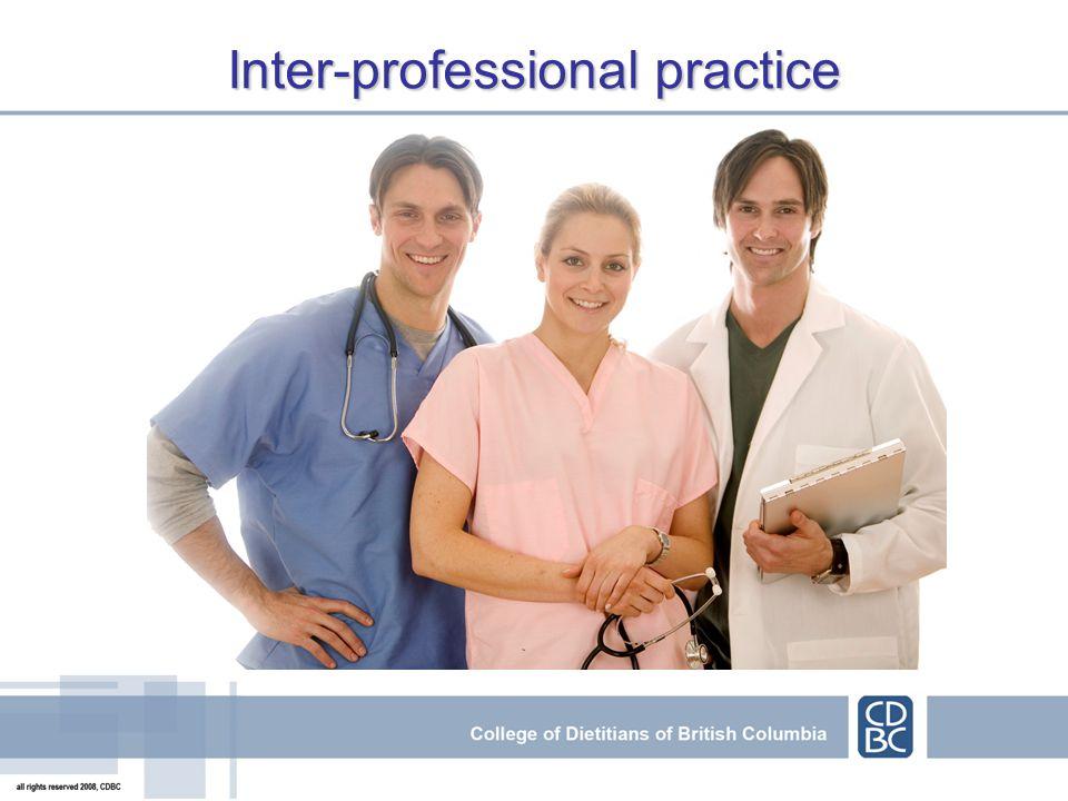 Inter-professional practice