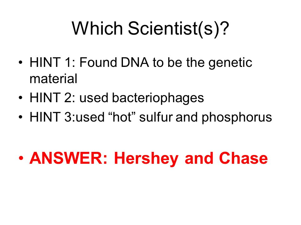 Which Scientist(s).
