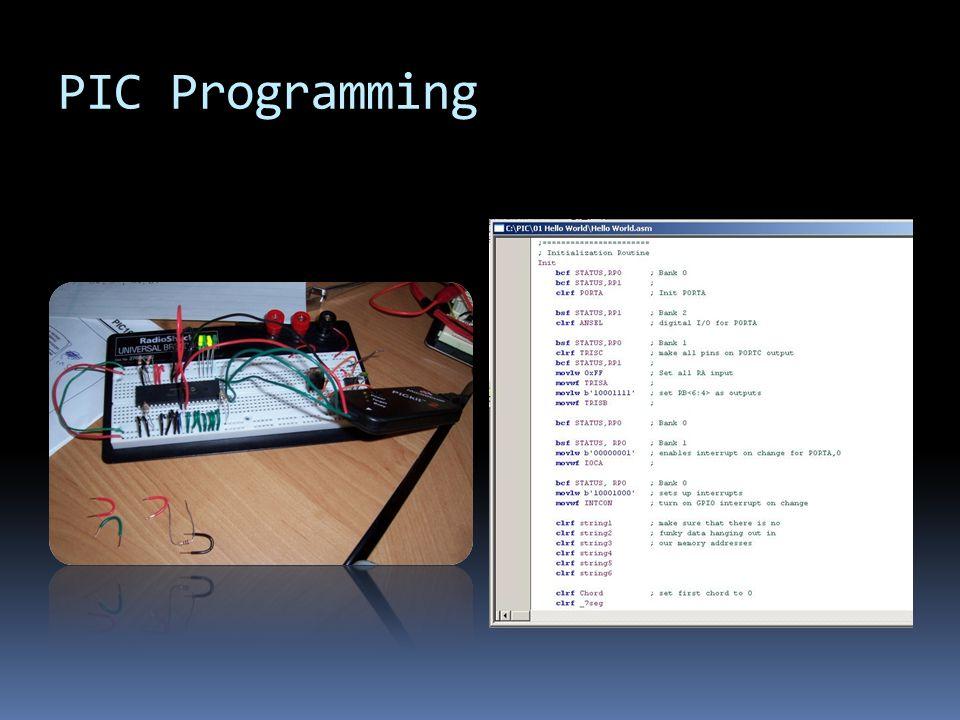 PIC Programming