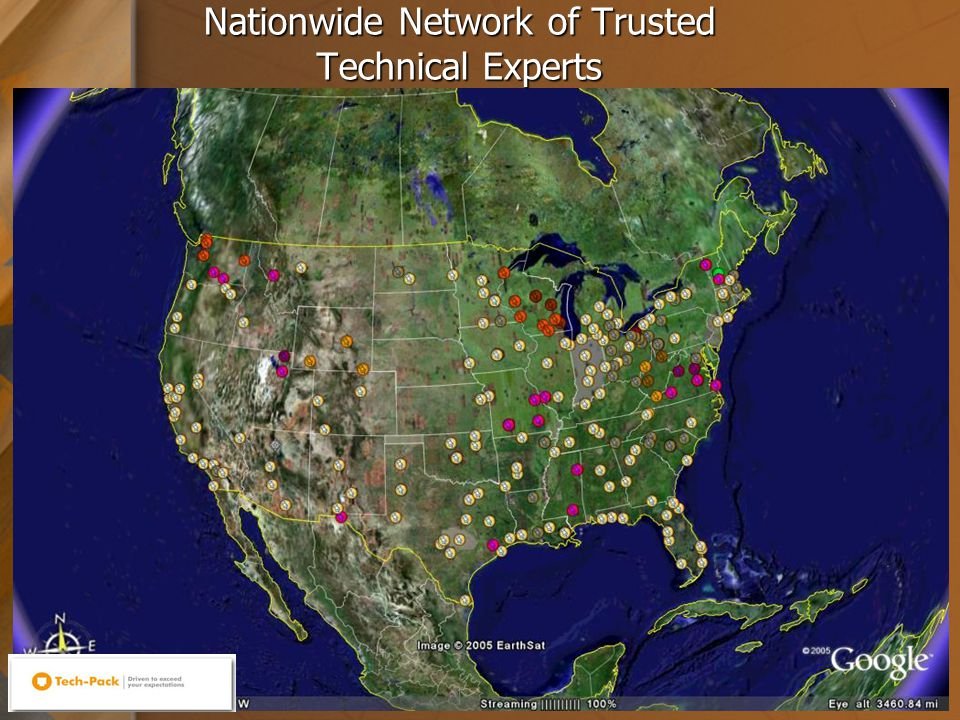 12 Nationwide Network of Trusted Technical Experts
