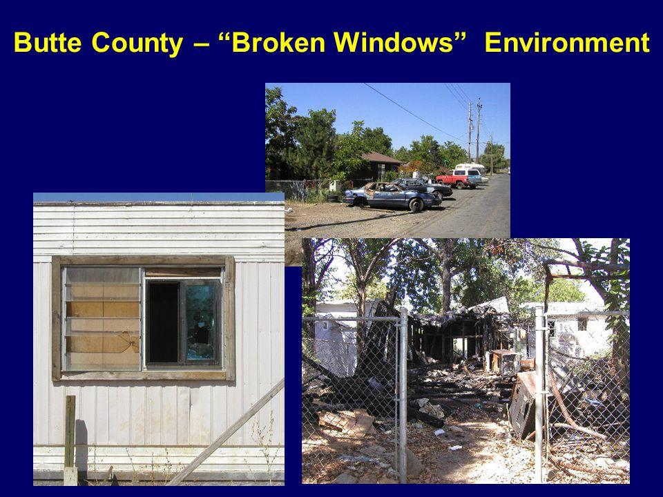 Butte County – Broken Windows Environment