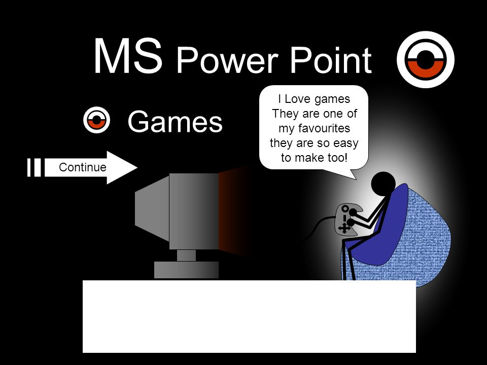 MS Power Point Games I Love games They are one of my favourites they are so easy to make too.