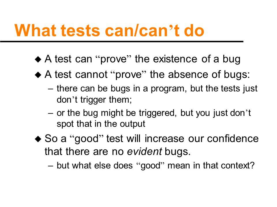 Methods of testing u top-down testing.u static testing.