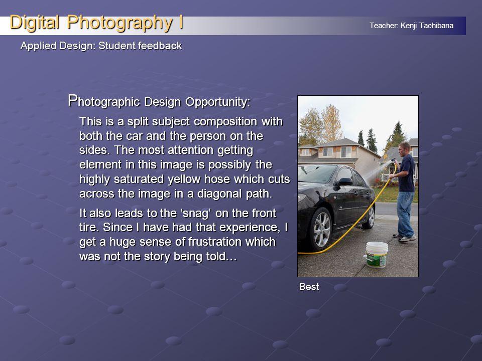 Teacher: Kenji Tachibana Digital Photography I Applied Design: Intro change L ocal Loss: WaMu was heavily into home loans.