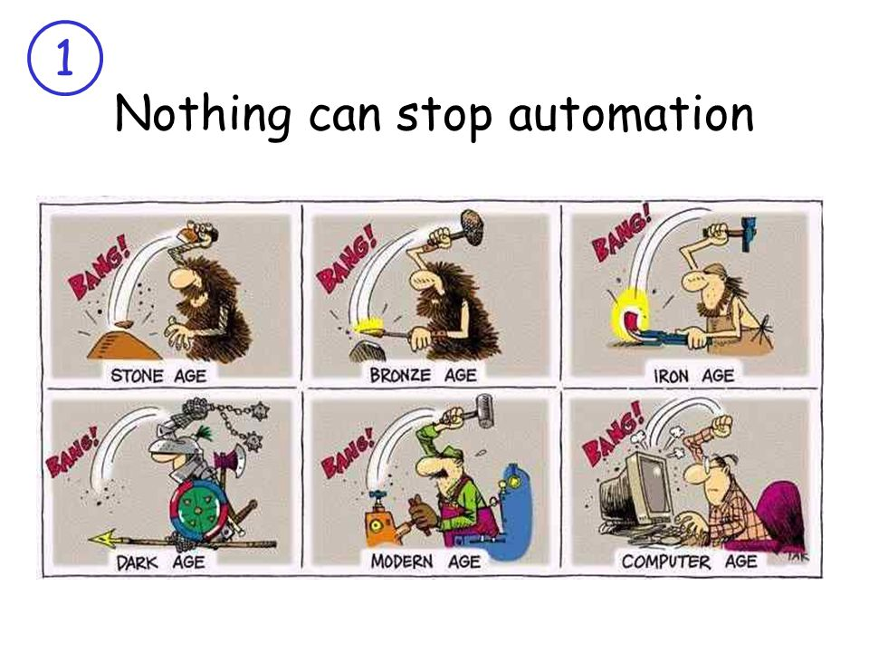 1 Nothing can stop automation