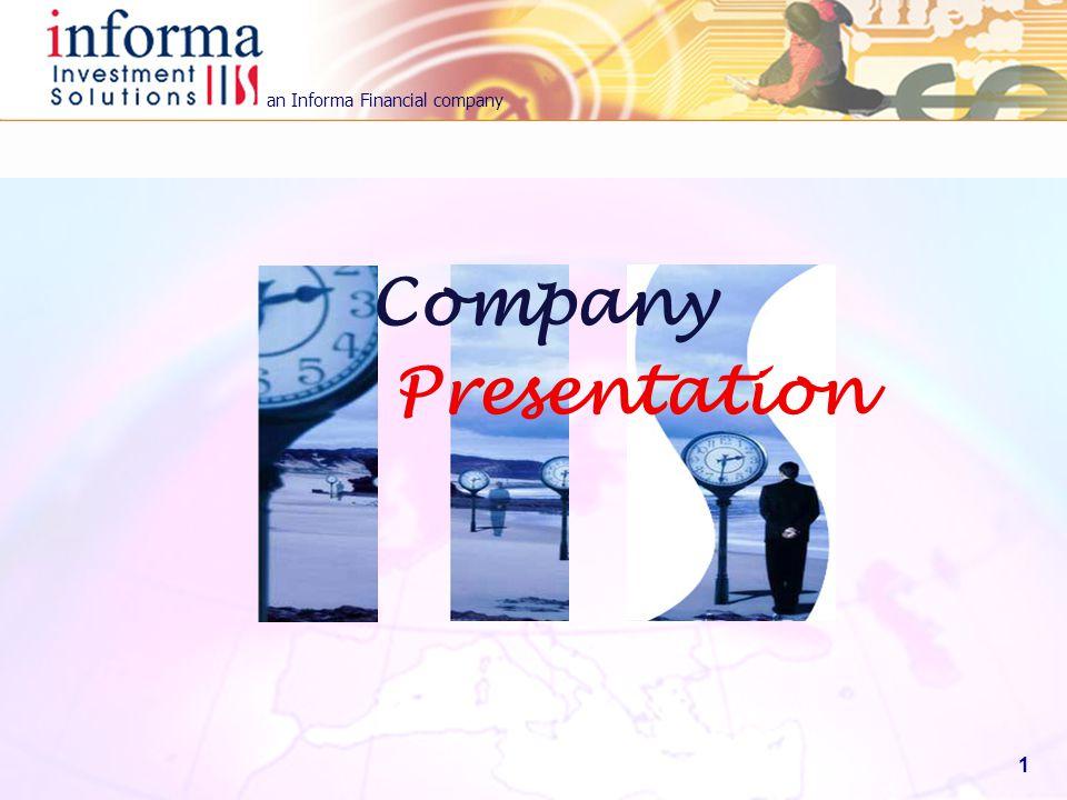 an Informa Financial company 1 Presentation Company