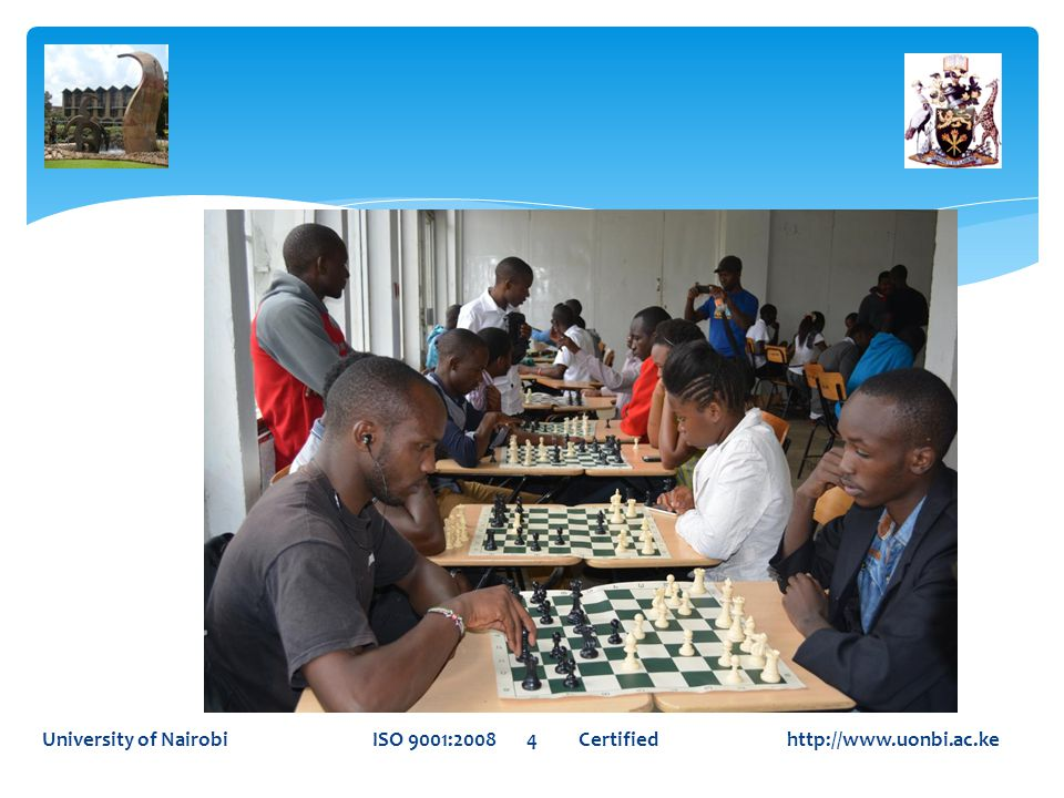 University of Nairobi ISO 9001:2008 5 Certified http://www.uonbi.ac.ke
