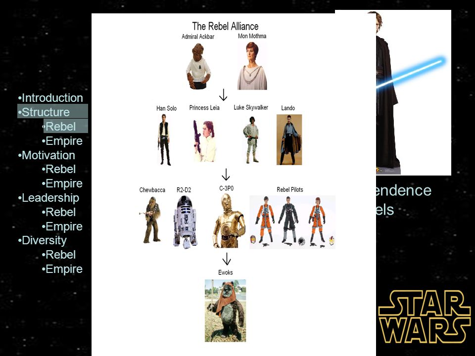 Introduction Structure Rebel Empire Motivation Rebel Empire Leadership Rebel Empire Diversity Rebel Empire Conclusion