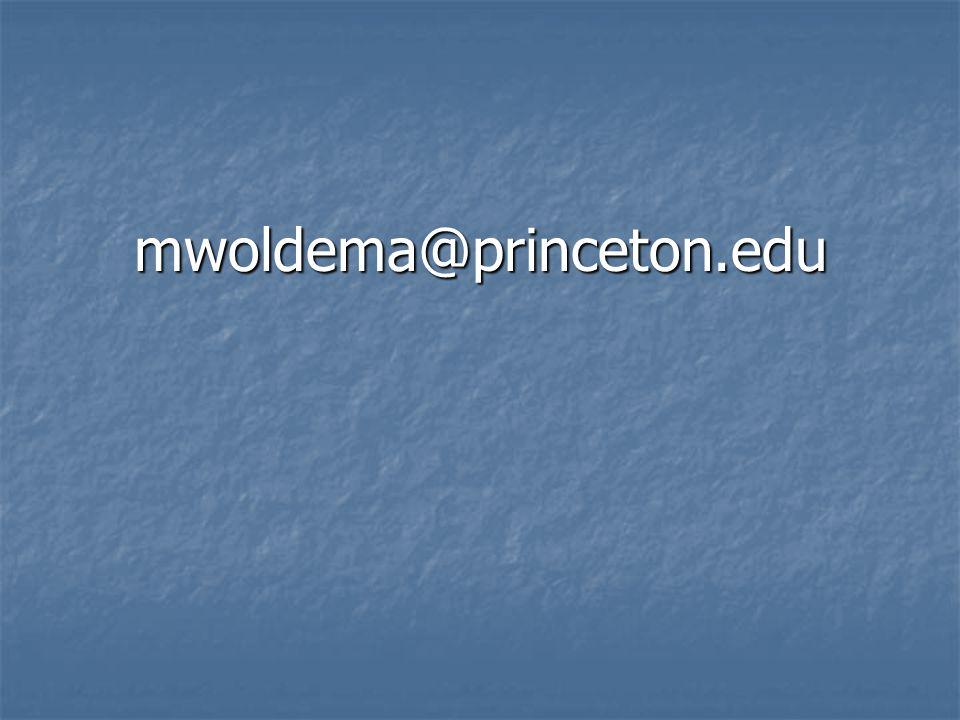 mwoldema@princeton.edu