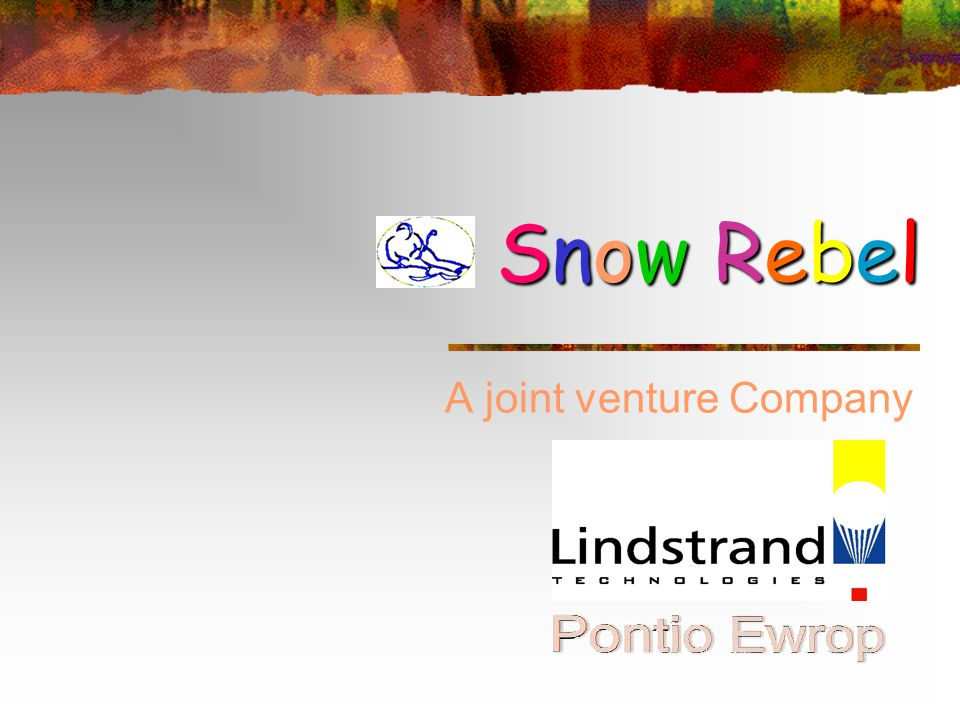 A joint venture Company Snow RebelSnow RebelSnow RebelSnow Rebel