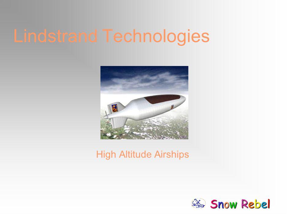 Snow RebelSnow RebelSnow RebelSnow Rebel Lindstrand Technologies High Altitude Airships