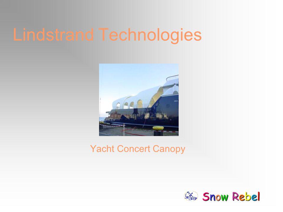 Snow RebelSnow RebelSnow RebelSnow Rebel Lindstrand Technologies Yacht Concert Canopy