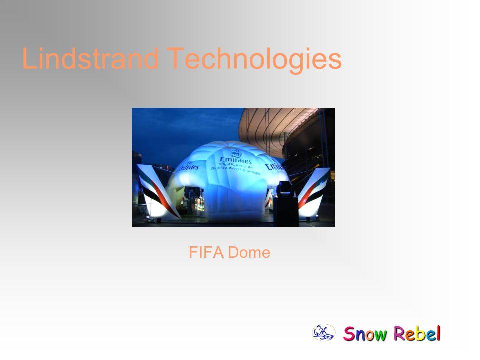 Snow RebelSnow RebelSnow RebelSnow Rebel Lindstrand Technologies FIFA Dome
