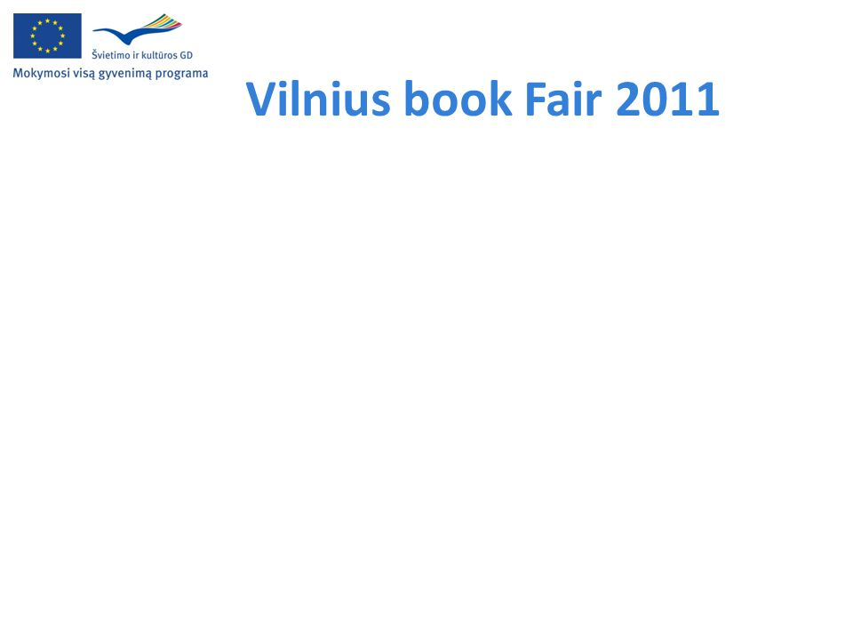Vilnius book Fair 2011