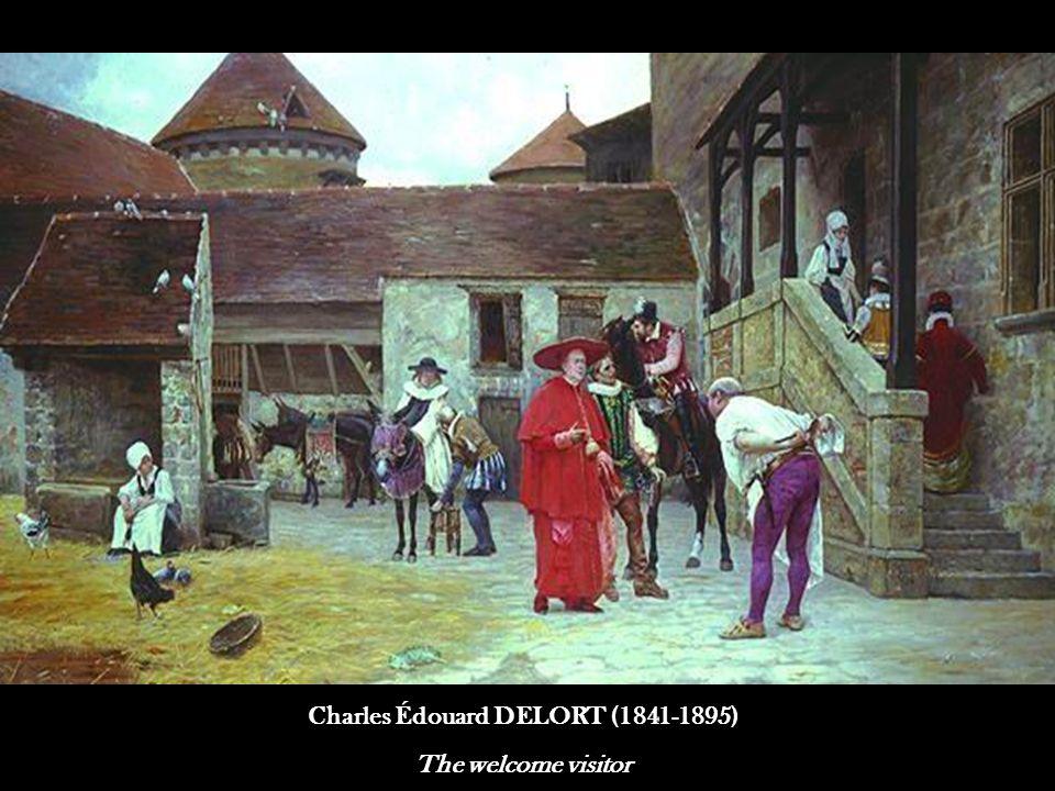 2 Alfred GUILLOU (1844-1926) Bouquet du matin