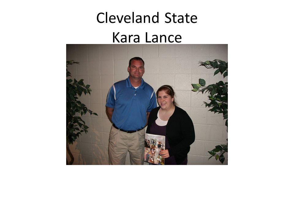 Cleveland State Kara Lance