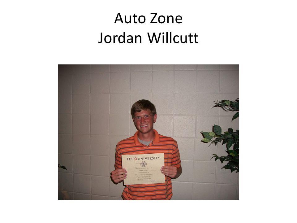 Auto Zone Jordan Willcutt