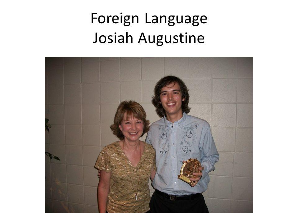 Foreign Language Josiah Augustine