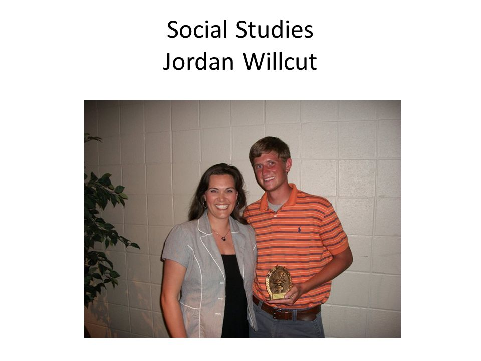 Social Studies Jordan Willcut