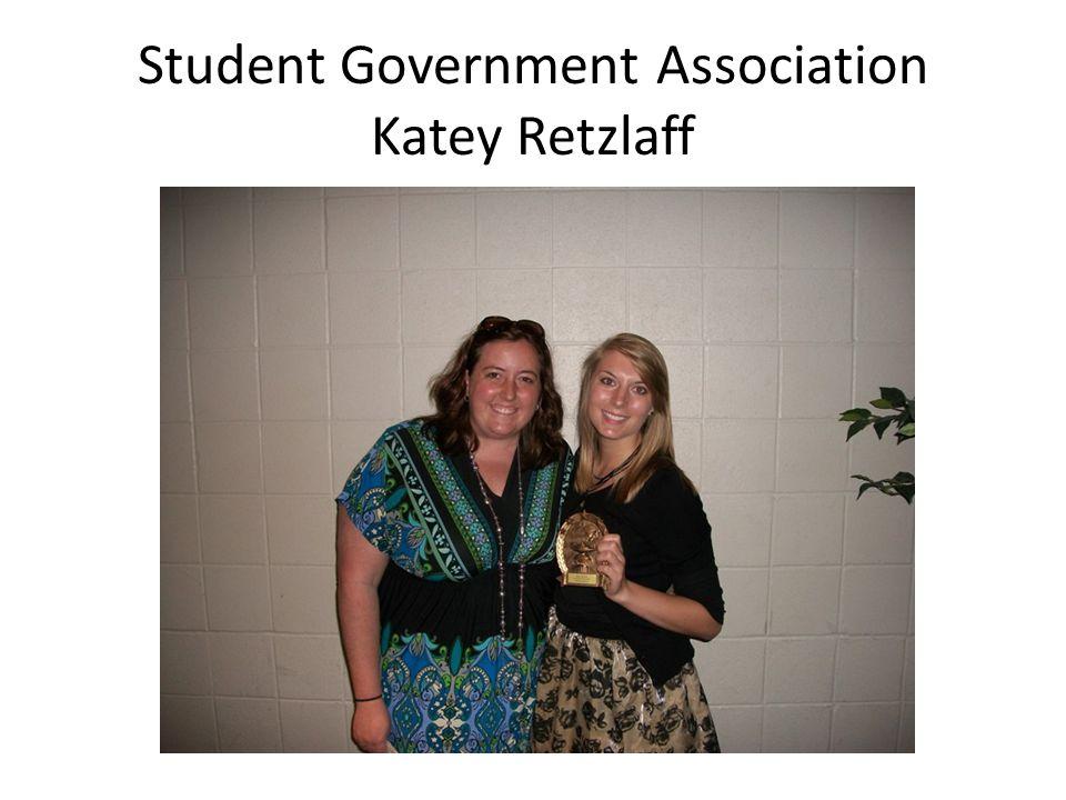 Student Government Association Katey Retzlaff