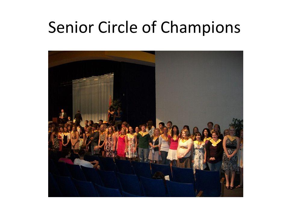 Senior Circle of Champions