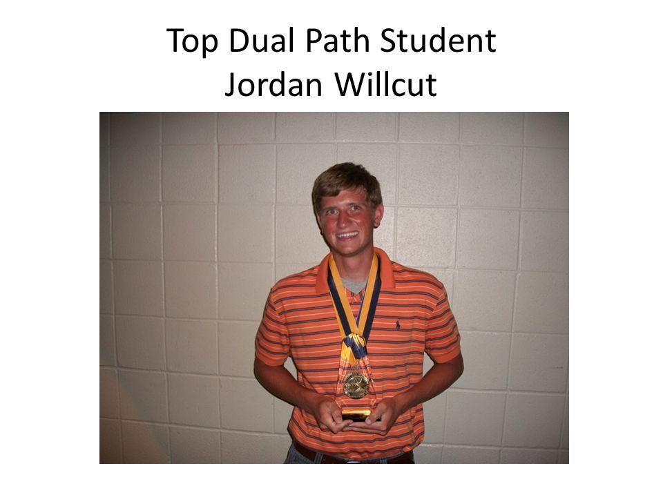 Top Dual Path Student Jordan Willcut