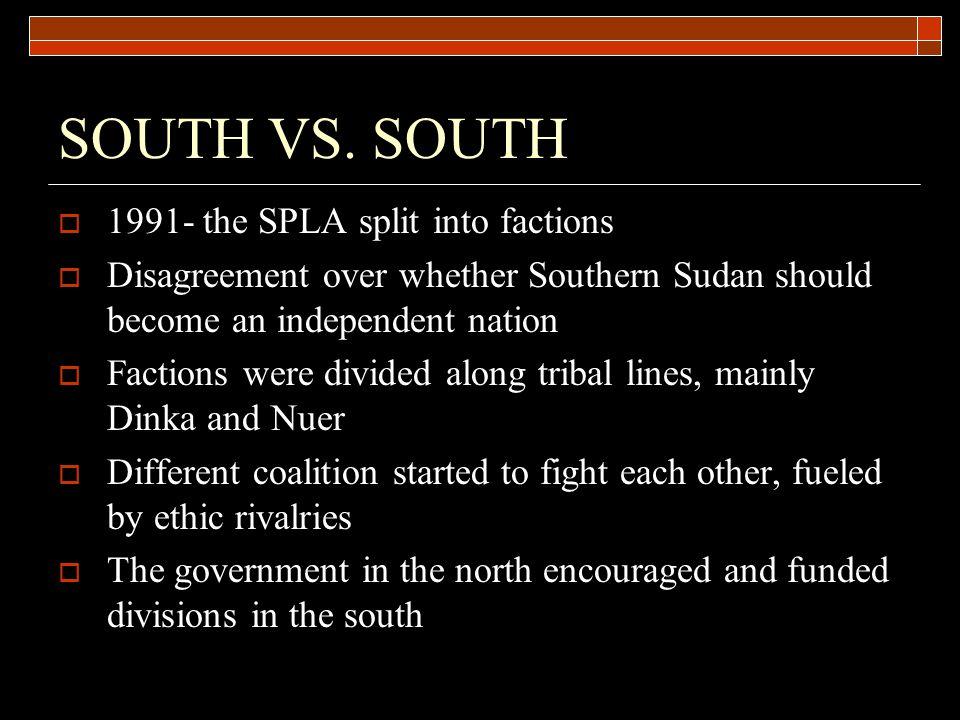 SOUTH VS.