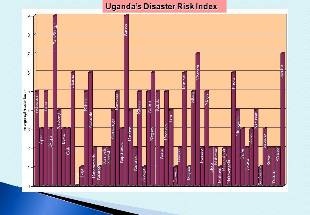 Uganda's Disaster Risk Index
