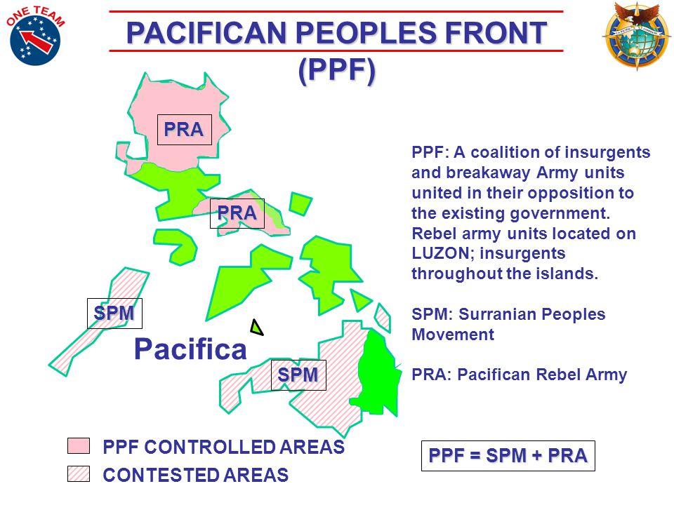 Pacifica Crisis The U.S. Responds