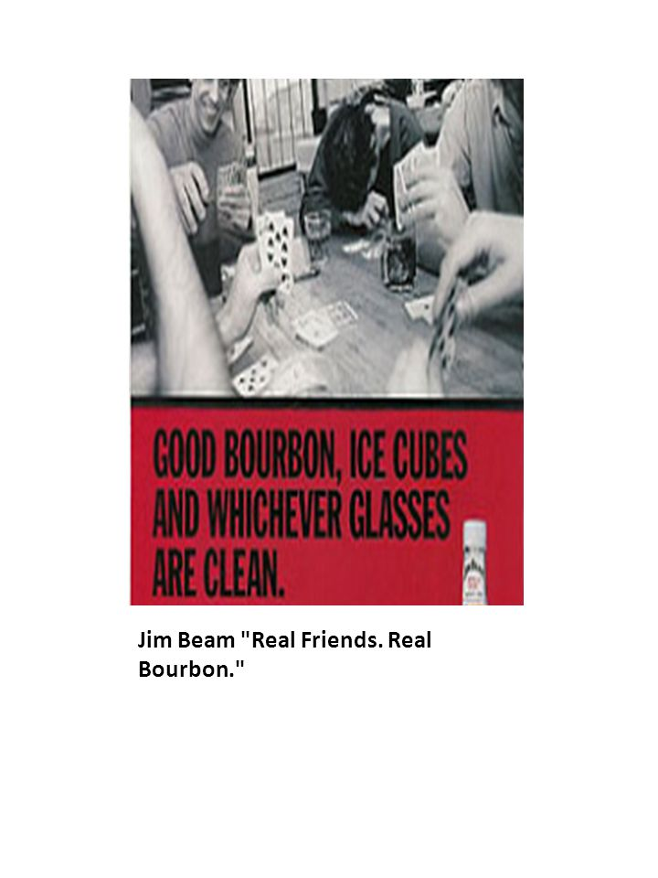 Jim Beam Real Friends. Real Bourbon.