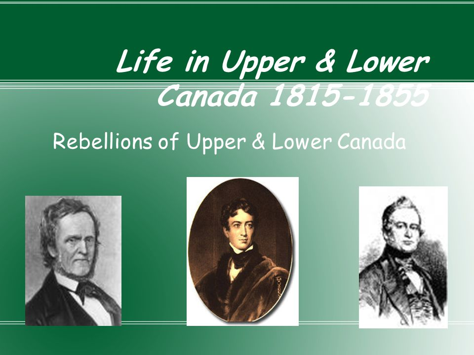 Family Compact Small group of powerful people in upper Canada As well as friends and supporters known as Tories Didn't want US government to be part of Canadian government Defended tradition Believed power should be in the hands of few capable people (themselves) Believed Church of England should have power Loyal to Great Britain